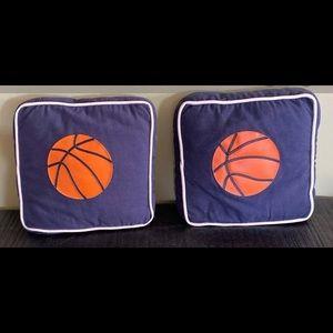 Pier 1 Basketball pillows